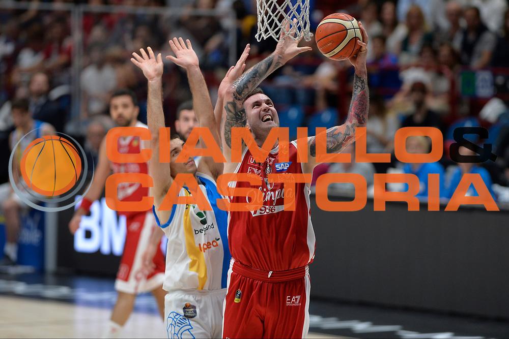 Raduljica Miroslav<br /> Olimpia EA7 Emporio Armani Milano vs Vanoli Cremona<br /> Lega Basket Serie A 2016/2017<br /> PlayOff semifinale gara 2<br /> Milano 14/05/2017<br /> Foto Ciamillo-Castoria / I.Mancini
