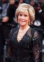 Actress Jane Fonda at the Le Grand Bain (Sink Or Swim) gala screening at the 71st Cannes Film Festival, Sunday 13th May 2018, Cannes, France. Photo credit: Doreen Kennedy