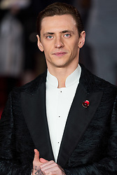 © Licensed to London News Pictures. 02/11/2017. London, UK. SERGEI POLUNIN attends the world film premiere of Murder On The Orient Express. Photo credit: Ray Tang/LNP