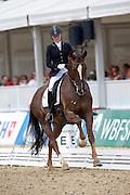 Stella Hagelstam - Sandoz Sil<br /> FEI World Breeding Dressage Championships for Young Horses 2012<br /> © DigiShots