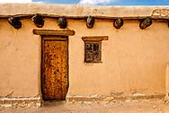 Bents Old Fort National Historic Site, La Junta, Colorado, door