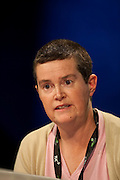 Mandy Hudson, NUT, speaking at the TUC Conference 2009...© Martin Jenkinson, tel 0114 258 6808 mobile 07831 189363 email martin@pressphotos.co.uk. Copyright Designs & Patents Act 1988, moral rights asserted credit required. No part of this photo to be stored, reproduced, manipulated or transmitted to third parties by any means without prior written permission