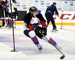 Jansen Harkins of the Prince George Cougars in the Skills Combine at the 2015 BMO CHL Top Prospects Game in St. Catharines, ON on Wednesday Jan. 21, 2015. Photo by Aaron Bell/CHL Images