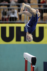 Adela Sajn (SLO) placed fourth at Salamunov memorial World Cup, on April 19, 2009, in Arena Luknja, Ljudski vrt, Maribor, Slovenia. (Photo by Zoran Flis / Sportida)