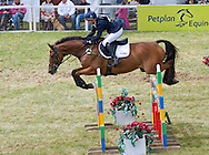 """ZARA RIDES HIGH KINGDOM.in the show jumping competition at the Gatcome Horse Trials, Gatcombe Estate, Minchinhampton, Gloucestershire_07/08/2011.It was an emotional day for Zara, who fought back tears during her farewell to her favourite horse """"Ginger"""" Toytown.Mandatory Credit Photo: ©Dias/NEWSPIX INTERNATIONAL..**ALL FEES PAYABLE TO: """"NEWSPIX INTERNATIONAL""""**..IMMEDIATE CONFIRMATION OF USAGE REQUIRED:.Newspix International, 31 Chinnery Hill, Bishop's Stortford, ENGLAND CM23 3PS.Tel:+441279 324672  ; Fax: +441279656877.Mobile:  07775681153.e-mail: info@newspixinternational.co.uk"""