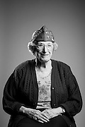 Hannah Deutch<br /> British Army<br /> O-2<br /> Nurse<br /> 1941 - 1944<br /> WWII (European Theater) <br /> Holocaust Survivor<br /> <br /> Veterans Portrait Project<br /> Charleston, SC<br /> Jewish War Veterans