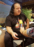 Berlin, Germany - 18 October 2012<br /> Porn star Ron Jeremy promoting his 'Ron Jeremy' brand of rum at the Venus Berlin 2012 adult industry exhibition in Berlin, Germany. Ron Jeremy, born Ronald Jeremy Hyatt, has been an American pornographic actor since 1979. He faces sexual assault allegations which he strenuously denies. There is no suggestion that any of the people in these pictures have made any such allegations.<br /> www.newspics.com/#!/contact<br /> (photo by: EQUINOXFEATURES.COM)<br /> Picture Data:<br /> Photographer: Equinox Features<br /> Copyright: &copy;2012 Equinox Licensing Ltd. +448700 780000<br /> Contact: Equinox Features<br /> Date Taken: 20121018<br /> Time Taken: 12145746
