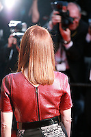 Julianne Moore faces photographers at the the Mr. Turner gala screening red carpet at the 67th Cannes Film Festival France. Thursday 15th May 2014 in Cannes Film Festival, France.