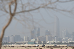 February 24, 2019 - Abu Dhabi, United Arab Emirates - A general view of Abu Dhabi during the Team Time Trial, the opening ADNOC stage of the inaugural UAE Tour 2019..On Sunday, February 24, 2019, Abu Dhabi, United Arab Emirates. (Credit Image: © Artur Widak/NurPhoto via ZUMA Press)