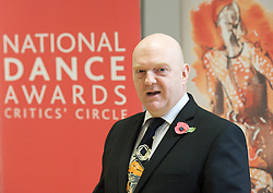 Graham Watts OBE, Chairman for the National Dance Awards Critics' Circle..National Dance Awards, Announcement of Nominations, The Place, London, Great Britain, November 9, 2012. Photo by Elliott Franks / i-Images.
