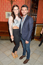 Singer LUCIE JONES and ETHAN BOROIAN at a Gala Performance of Impossible at the Noël Coward Theatre, 85-88 Saint Martin's Lane, London on 13th July 2016.