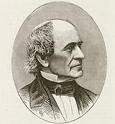 'Alvan Clark (1804-1887) American astronomer,painter and engraver.  His company Alvan  Clark & Sons,  produced lenses for refracting telescopes, including Pulkova Observatory, Russia, and Yerkes and Lick observatories in the United States.'
