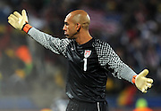Tim Howard (USA) .USA Ghana - USA vs Ghana.Ottavi di finale - Round of 16 matches.Campionati del Mondo di Calcio Sudafrica 2010 - World Cup South Africa 2010.Royal Bafokeng Stadium, Rustenburg, 26 / 06 / 2010.