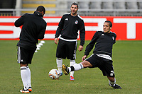 20120213: BRAGA, PORTUGAL - Midfielder Julio Alves at the Besiktas JK training session before UEFA Europe League match against SC Braga.<br /> PHOTO: CITYFILES
