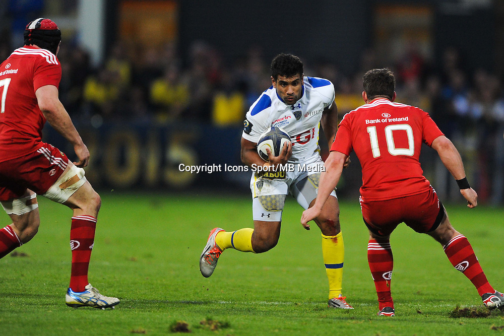 Wesley FOFANA - 14.12.2014 - Clermont / Munster - European Champions Cup <br /> Photo : Jean Paul Thomas / Icon Sport