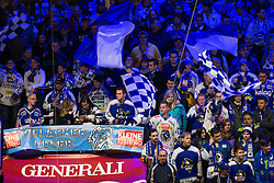 20.11.2012, Eishalle Villach, Ljubljana, AUT, EBEL, EC VSV vs HDD Telemach Olimpija Ljubljana, 23. Runde, in picture Fans during the Erste Bank Icehockey League 23rd Round match between EC VSV and HDD Telemach Olimpija Ljubljana at the Eishalle Villach, Villach, Austria on 2012/11/20. (Photo By Matic Klansek Velej / Sportida)
