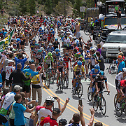Stage three's first KOM came less than twelve miles from the Breckenridge start, a rude start to the day following stage two's 126-mile climb fest.