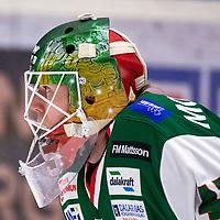 2019-12-02 | Umeå, Sweden:Mora (45) Isak Wallin warming up in HockeyAllsvenskan during the game  between Björklöven and Mora at A3 Arena ( Photo by: Michael Lundström | Swe Press Photo )<br /> <br /> Keywords: Umeå, Hockey, HockeyAllsvenskan, A3 Arena, Björklöven, Mora, mlbm191202