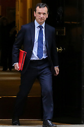 © Licensed to London News Pictures. 01/01/2019. London, UK. Alun Cairns - Secretary of State for Wales departs from No 10 Downing Street after attending the weekly Cabinet Meeting. Photo credit: Dinendra Haria/LNP