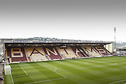 Valley Parade - Coral Windows Stadium prior to the Sky Bet League 1 match between Bradford City and Sheffield Utd at the Coral Windows Stadium, Bradford, England on 20 September 2015. Photo by Simon Davies.
