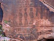 Petroglyphs, Valley of Fire, near Las Vegas Nevada, USA