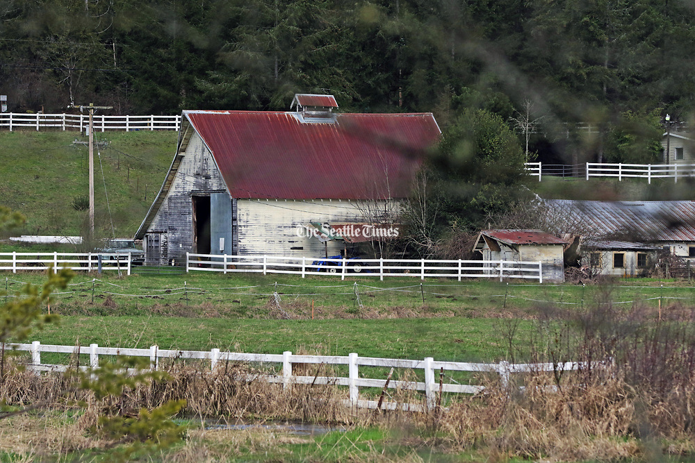 A group of local citizens have been trying to save Winterbook Farm and property, some 80 acres in all. A couple who live next to it decided to buy it and preserve it as open space. (Greg Gilbert/The Seattle Times)