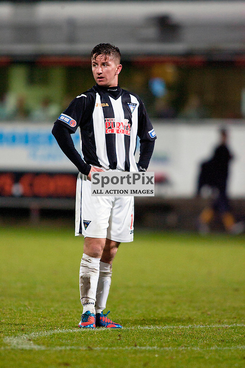 Josh Falkingham (Dunfermline) 2 goals. Dunfermline v Dumbarton Scottish Division 1 Saturday 24 November 2012. (c) Russell Sneddon | StockPix.eu