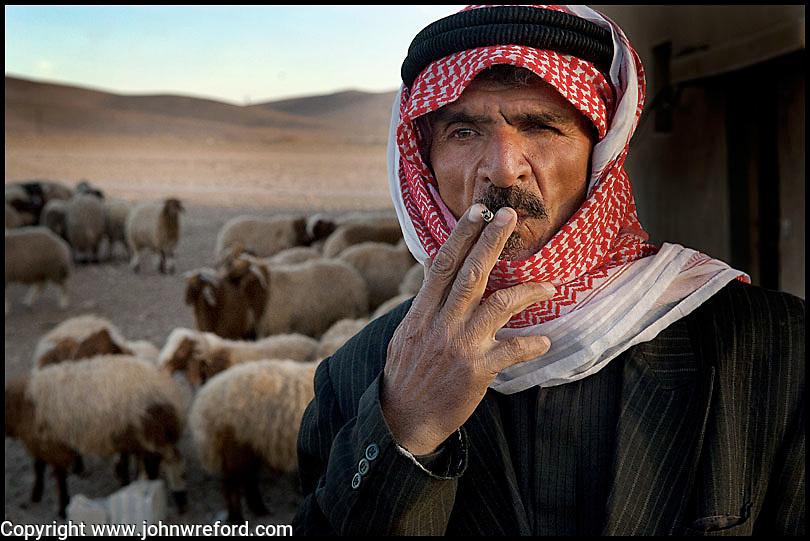 Displaced Syrian Farmer Near Nabk