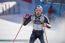 18.12.2016, Grand Risa, La Villa, ITA, FIS Ski Weltcup, Alta Badia, Riesenslalom, Herren, 2. Lauf, im Bild Florian Eisath (ITA, 3. Platz) // third placed Florian Eisath of Italy reacts after his 2nd run of men's Giant Slalom of FIS ski alpine world cup at the Grand Risa race Course in La Villa, Italy on 2016/12/18. EXPA Pictures © 2016, PhotoCredit: EXPA/ Johann Groder