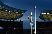 Armand Duplantis (SWE) win the Gold Medal in Pole Vault Men during the European Championships 2018, at Olympic Stadium in Berlin, Germany, Day 6, on August 12, 2018 - Photo Julien Crosnier / KMSP / ProSportsImages / DPPI