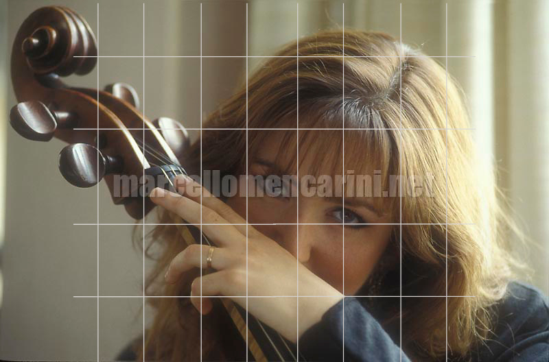 Canadian cellist Ofra Harnoy (Padova, 1992) / La violoncellista Ofra Harnoy (Padova, 1992) - © Marcello Mencarini