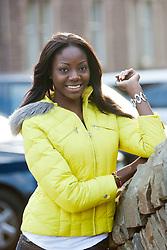 Miss Zimbabwe Malaika Maidei MUSHANDU..The Miss World 2011 contestants in the grounds of Crieff Hydro, Perthshire..MISS WORLD 2011 VISITS SCOTLAND..Pic © Michael Schofield.