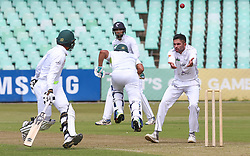 Durban. 221018. Keshav Maharaje during day 1 of the 4 Day Franchise Series match between Hollywoodbets Dolphins and Warriors at Kingsmead Cricket Ground on October 22, 2018 in Durban, South Africa. Picture Leon Lestrade. African News Agency. ( ANA )