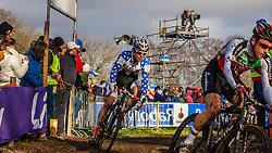Jonathan PAGE (17,USA) 2nd lap at Men UCI CX World Championships - Hoogerheide, The Netherlands - 2nd February 2014 - Photo by Pim Nijland / Peloton Photos
