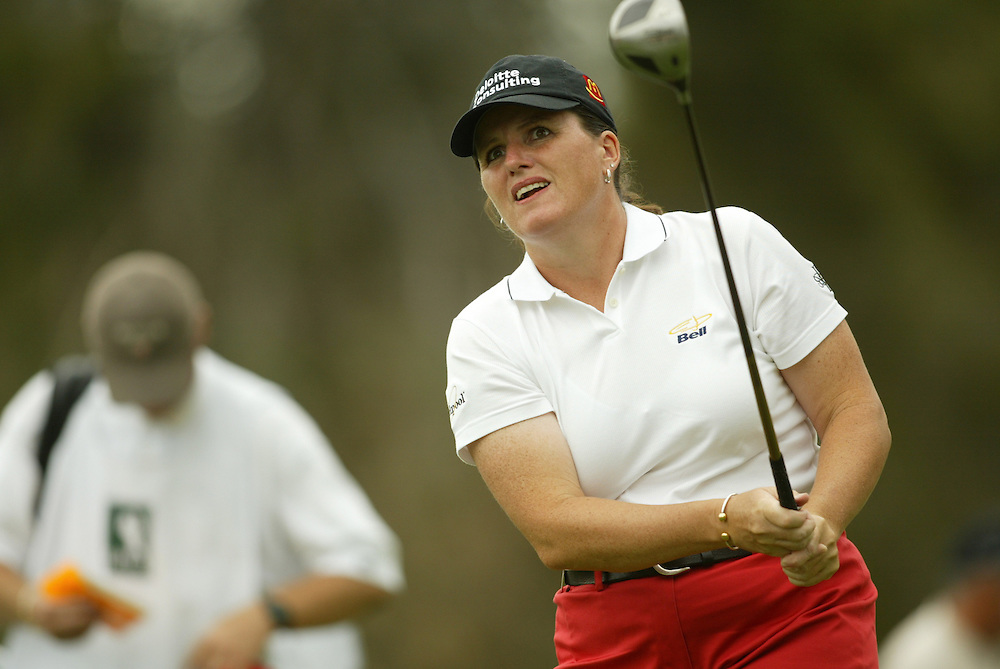 Lorie Kane..LPGA Welch's Fry's Championship Round 3..Dell Urich GC at Randolph Park..Tucson, AZ..March 15, 2003..Photograph by Darren Carroll ..X67922, Take 2