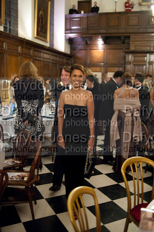 GINA MILLER, Charity Dinner in aid of Caring for Courage The Royal Scots Dragoon Guards Afganistan Welfare Appeal. In the presence of the Duke of Kent. The Royal Hospital, Chaelsea. London. 20 October 2011. <br /> <br />  , -DO NOT ARCHIVE-&copy; Copyright Photograph by Dafydd Jones. 248 Clapham Rd. London SW9 0PZ. Tel 0207 820 0771. www.dafjones.com.
