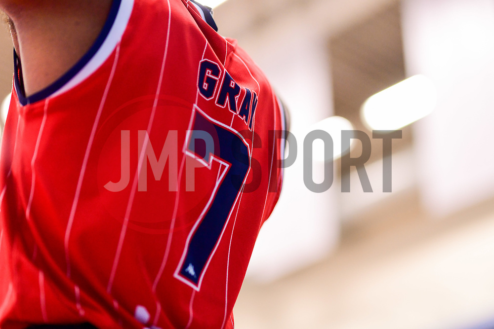 Justin Gray of Bristol Flyers - Photo mandatory by-line: Ryan Hiscott/JMP - 03/11/2018 - BASKETBALL - SGS Wise Arena - Bristol, England - Bristol Flyers v Newcastle Eagles - British Basketball League Championship