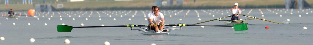 2005 FISA World Cup, Dorney Lake, Eton, ENGLAND, 27.05.05. [Friday am racing] .Photo  Peter Spurrier. .email images@intersport-images...[Mandatory Credit Peter Spurrier/ Intersport Images] , Rowing Courses, Dorney Lake, Eton. ENGLAND