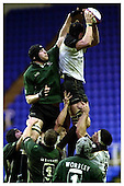 London Irish v Newcastle Falcons. 29-12-2002. Season 2002-2003.