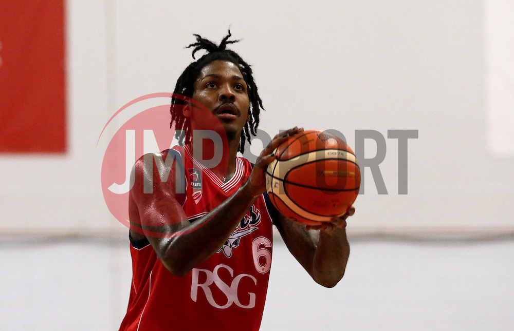 Lovell Cook of Bristol Flyers - Photo mandatory by-line: Robbie Stephenson/JMP - 17/09/2016 - BASKETBALL - SGS Wise Arena - Bristol, England - Bristol Flyers v Worcester Wolves - Exhibition Game
