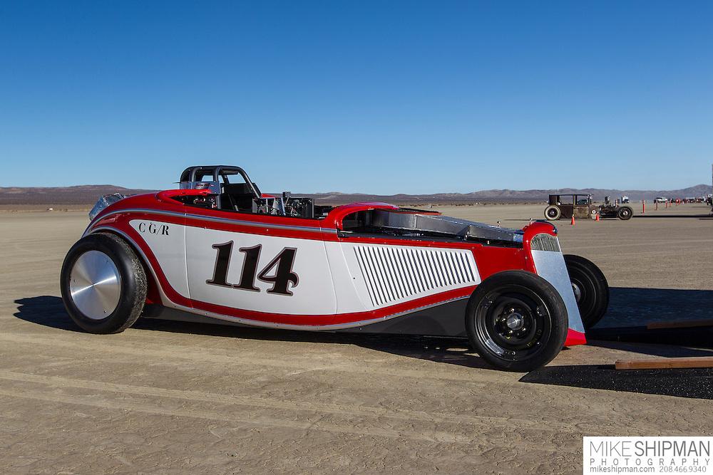 John Weatherwax, 114, eng C, body GR, driver John Weatherwax, 60.421 mph, record 214.608