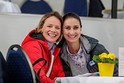 Alexandra von Süßkind-Schwendi (Clipmyhorse), ROTHE Sara (DKB)<br /> Neustadt-Dosse - 20. CSI Neustadt-Dosse 2020<br /> Impression am Rande<br /> Großer Preis des Landes Brandenburg<br /> Large Tour<br /> Int. Springprüfung mit Stechen<br /> 12. Januar 2020<br /> © www.sportfotos-lafrentz.de/Stefan Lafrentz