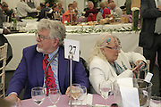 Mr. and Mrs. Rolf Harris Cartier Style et Luxe champagne reception and lunch at the  the Goodwood festival of Speed. 9 July 2006. -DO NOT ARCHIVE-© Copyright Photograph by Dafydd Jones 66 Stockwell Park Rd. London SW9 0DA Tel 020 7733 0108 www.dafjones.com