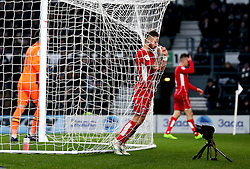Matty Taylor of Bristol City looks dejected after missing a chance to score - Mandatory by-line: Robbie Stephenson/JMP - 11/02/2017 - FOOTBALL - iPro Stadium - Derby, England - Derby County v Bristol City - Sky Bet Championship