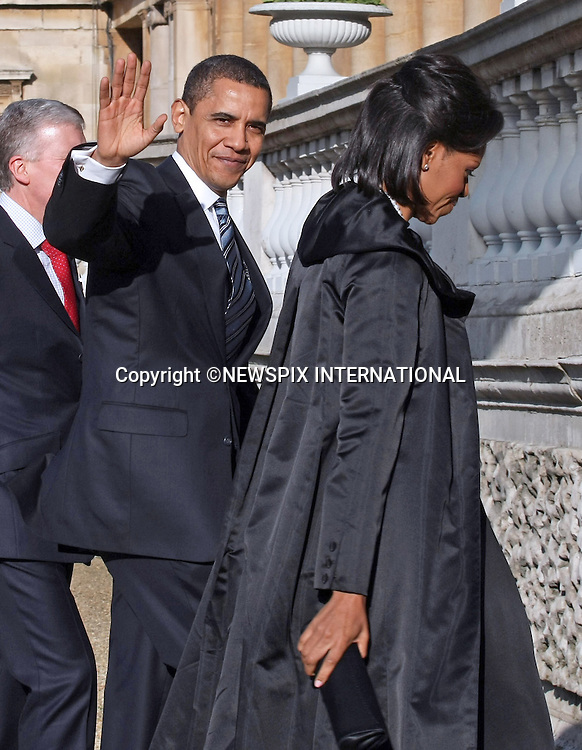 """PRESIDENT BARACK OBAMA AND WIFE MICHELLE.The Queen met G20 Summit world leaders at a reception at Buckingham Palace, London_01/04/2009..Photo Distributed by : Newspix International..**ALL FEES PAYABLE TO: """"NEWSPIX INTERNATIONAL""""**..PHOTO CREDIT MANDATORY!!: NEWSPIX INTERNATIONAL(Failure to credit will incur a surcharge of 100% of reproduction fees)..IMMEDIATE CONFIRMATION OF USAGE REQUIRED:.Newspix International, 31 Chinnery Hill, Bishop's Stortford, ENGLAND CM23 3PS.Tel:+441279 324672  ; Fax: +441279656877.Mobile:  0777568 1153.e-mail: info@newspixinternational.co.uk"""