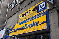 Printing Shop seen in Krakow Poand