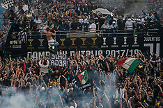Juventus FC victory day Italian Serie A and Coppa Italia in Turin - 19 May 2018