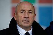 Accrington Stanley Manager John Coleman during the The FA Cup fourth round match between Accrington Stanley and Derby County at the Fraser Eagle Stadium, Accrington, England on 26 January 2019.