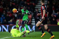 Artur Boruc of Bournemouth saves an attempt from Sadio Mane of Southampton - Mandatory by-line: Jason Brown/JMP - Mobile 07966 386802 01/03/2016 - SPORT - FOOTBALL - Bournemouth, Vitality Stadium - AFC Bournemouth v Southampton - Barclays Premier League