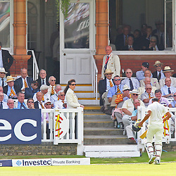 India's Ravindra Jadeja walks back to the pavilion out for 3 during the first day of the Investec 2nd Test match between England and India at Lords, London, 17th July 2014 © Phil Duncan | SportPix.org.uk